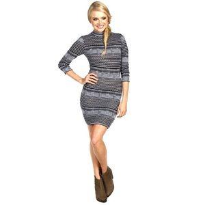 Free People Groovy Knit Striped Sweater Dress